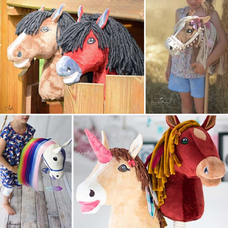 "Hobby Horse Schnittmuster ""HOLLY"": Nähbeispiele"