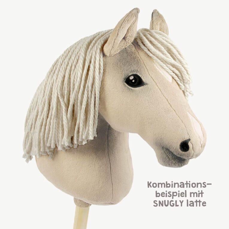 BIG MERINO hellbeige als Wolle für Hobby Horse Mähnen – Katia