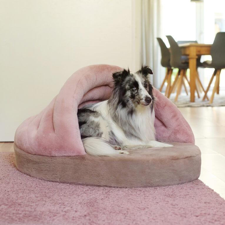 Hundebett nähen mit Schnittmuster Muschel SHELLY