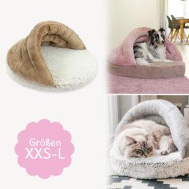 Katzen- und Hundebett nähen mit Schnittmuster SHELLY