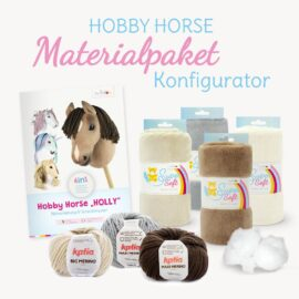 """Hobby Horse Nähset / Materialpaket für Schnittmuster """"HOLLY"""" mit Farben nach Wahl"""