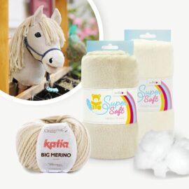 "Hobby Horse Palomino Stoffpaket für Schnittmuster ""HOLLY"""