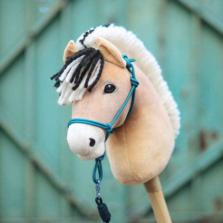 Hobby Horse Fjordpferd mit Plüschstoff SHORTY beige