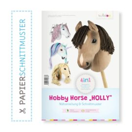 """Papierschnittmuster """"HOLLY"""" zum Hobby Horse selber nähen"""