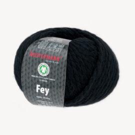 Wolle FEY schwarz zum Hobby Horse Mähne selber machen, GOTS-zertifiziert – AUSTERMANN