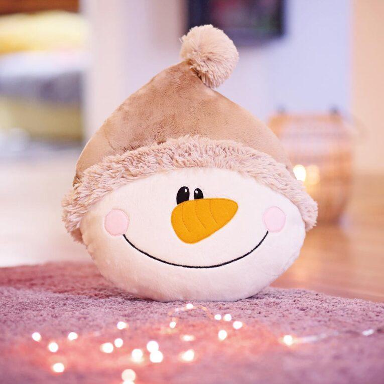 kullaloo QuickSchnitt: Pinguin und Schneemann Kissen nähen