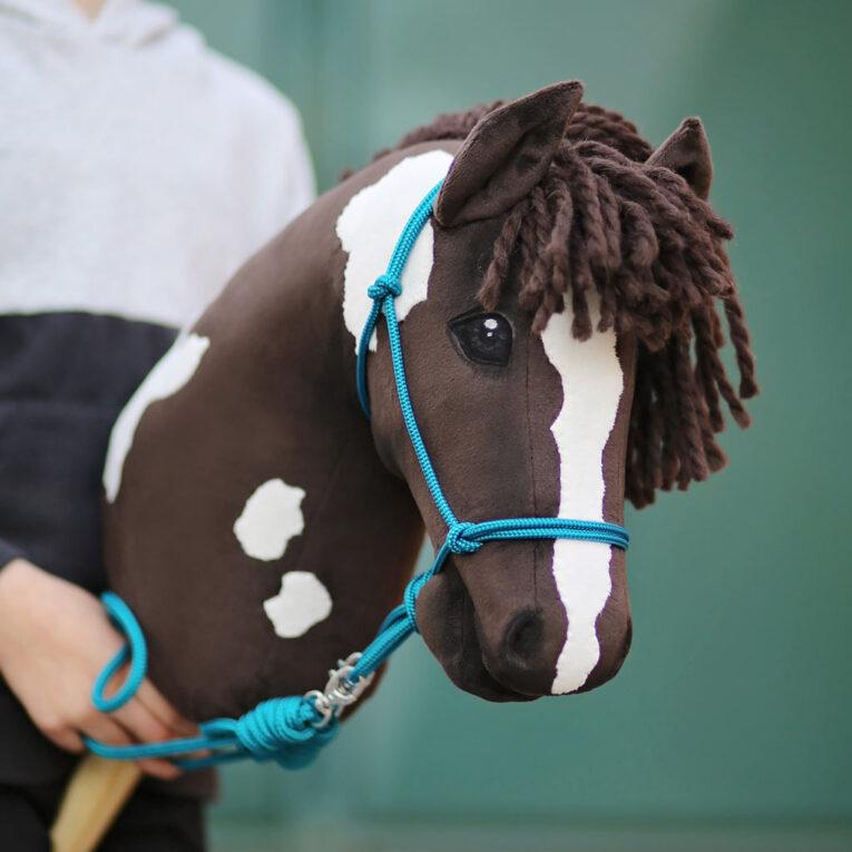 Wolle FEY dunkelbraun zum Hobby Horse Mähne machen, GOTS-zertifiziert – AUSTERMANN