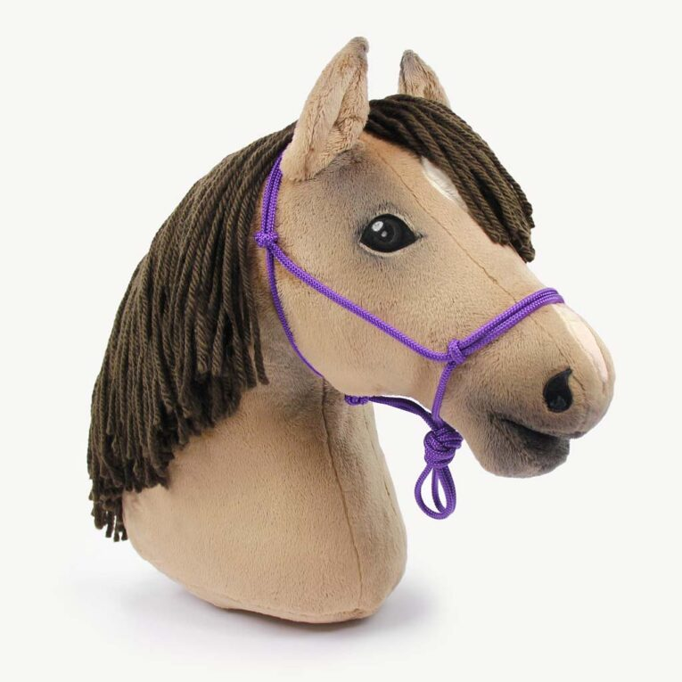Hobby Horse Halfter Materialset lila-pink