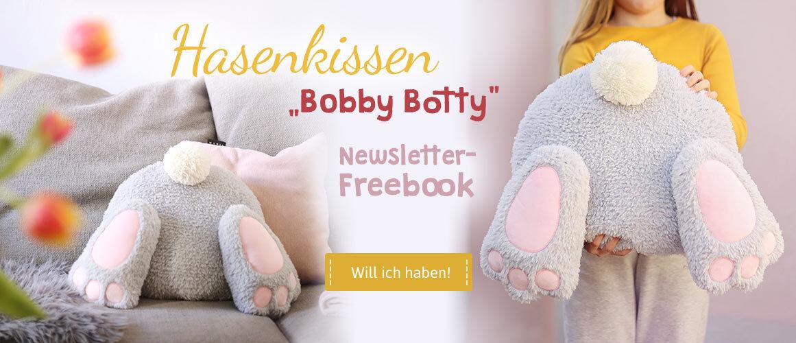 Freebook Ostern Hasenkissen