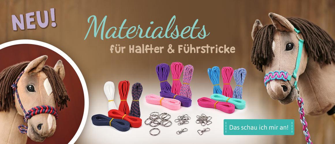 Hobby Horse Halfter Materialsets