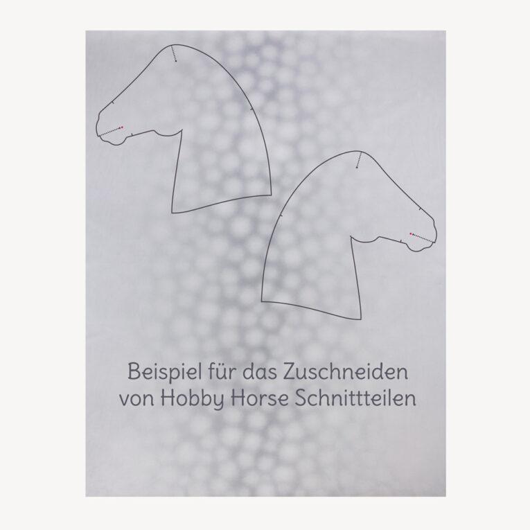 Hobby Horse Stoff Apfelschimmel – 1,5 mm SuperSoft SHORTY