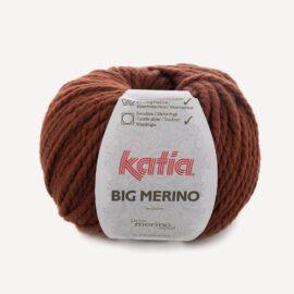 BIG MERINO rostbraun / terracotta als Steckenpferd Mähne Wolle – Katia