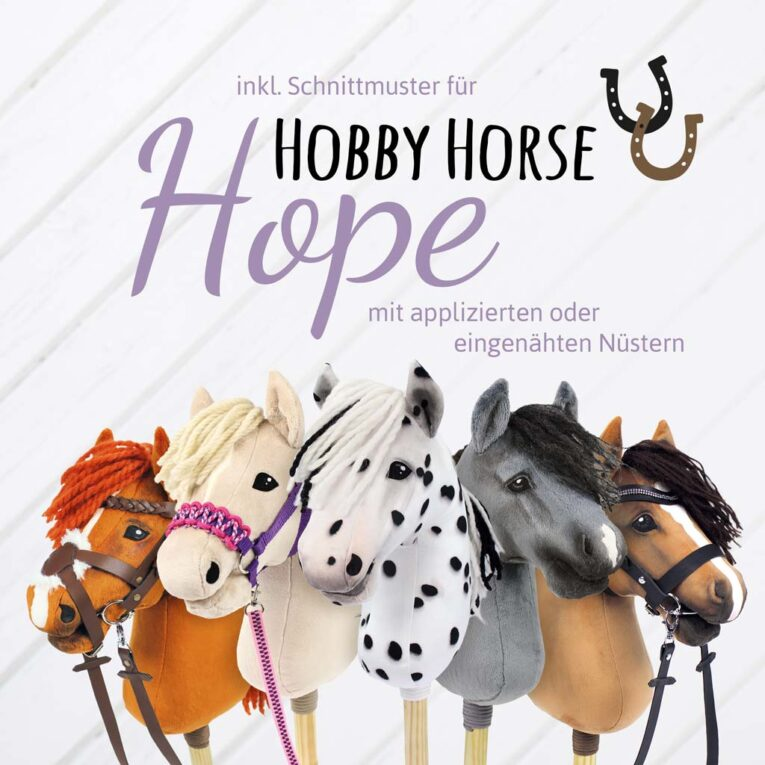 Buch zum Hobby Horse mit eingenähten Nüstern nähen