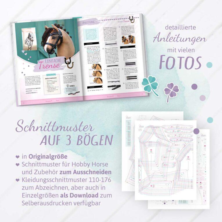 Hobby Horse nähen Schnittmuster / Vorlage