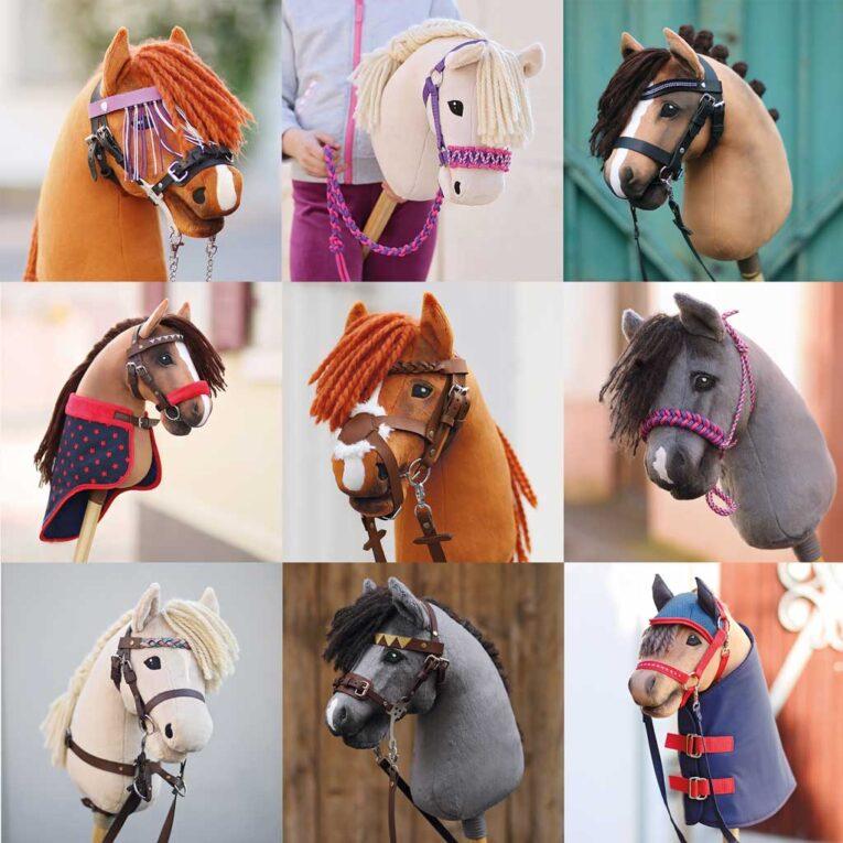 """Highlights aus """"Mein Hobby Horse & ich"""" – Hobby Horses mit kuscheligen Stoffen"""