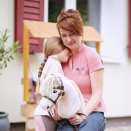 Mein Hobby Horse & ich: Die Autorin Juliane
