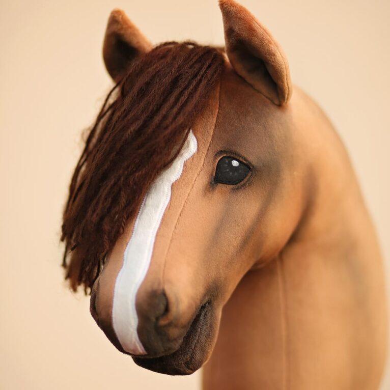 Hobby Horse Augen bemalen