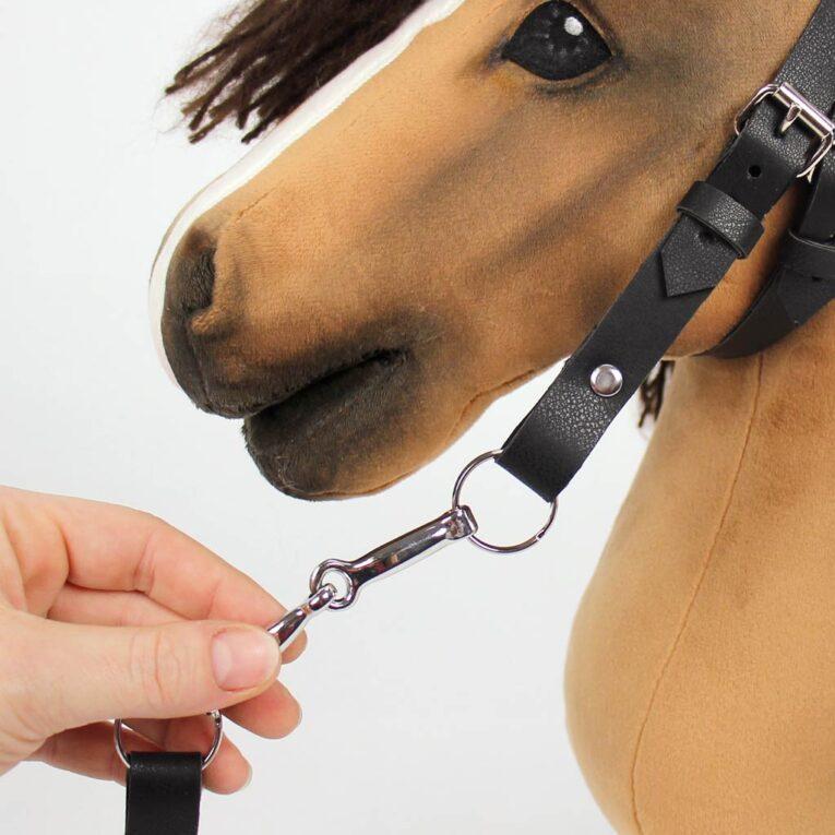 Hobby Horse Gebiss kaufen: Anwendungsbeispiel