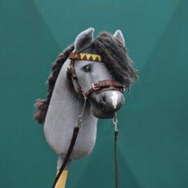 Hobby Horse Hackamore selber machen mit Bastel-Set in braun