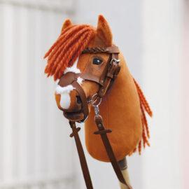 Hobby Horse mexikanische Trense selber machen mit kullaloo Bastel-Set in braun