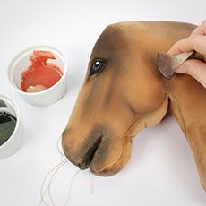 Hobby Horse selber machen: Bemalen & schattieren