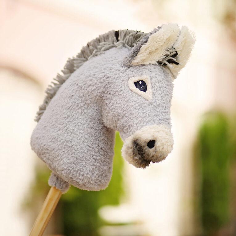 Hobby Horse Stehmähne selber machen für einen Esel