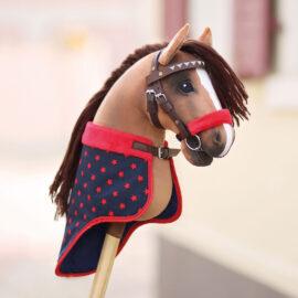 Hobby Horse mexikanische Trense basteln: kullaloo Bastel-Set mit braunem Leder