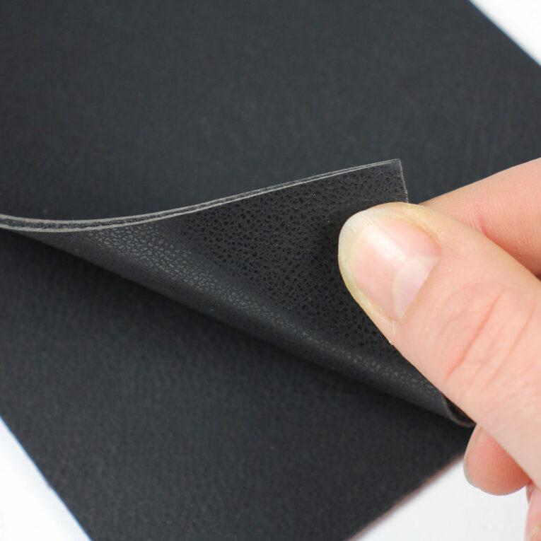 Hobby Horse Trense basteln: Materialset mit doppelseitigem Leder in schwarz