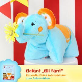 """Schnittmuster Elefant """"Elli Fant"""""""