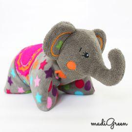 "Schnittmuster Elefant ""Elli Fant"" von madiGreen"