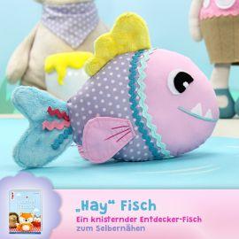 """Schnittmuster Fisch """"Hay Fisch"""""""