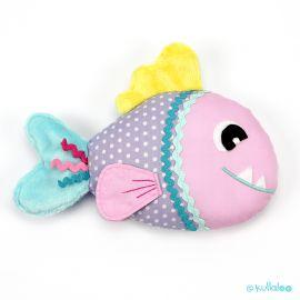 Schnittmuster Fisch selber nähen