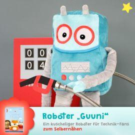 """Schnittmuster Roboter """"Guuni"""""""